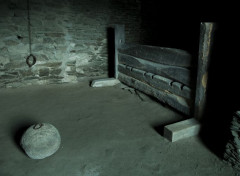 Voyages : Europe Ruine château à Runkel - Chambre de torture