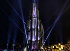 Constructions and architecture fête des lumières de Royan