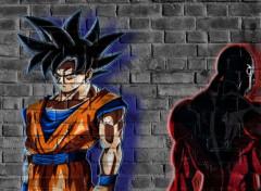 Manga Goku Ultra Instinct et Jiren