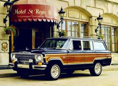 Voitures jeep grand wagoneer (1986)
