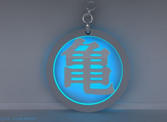Art - Numérique goku symbol 2