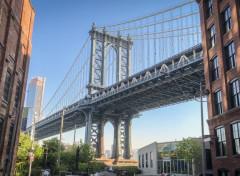 Voyages : Amérique du nord Manhattan bridge