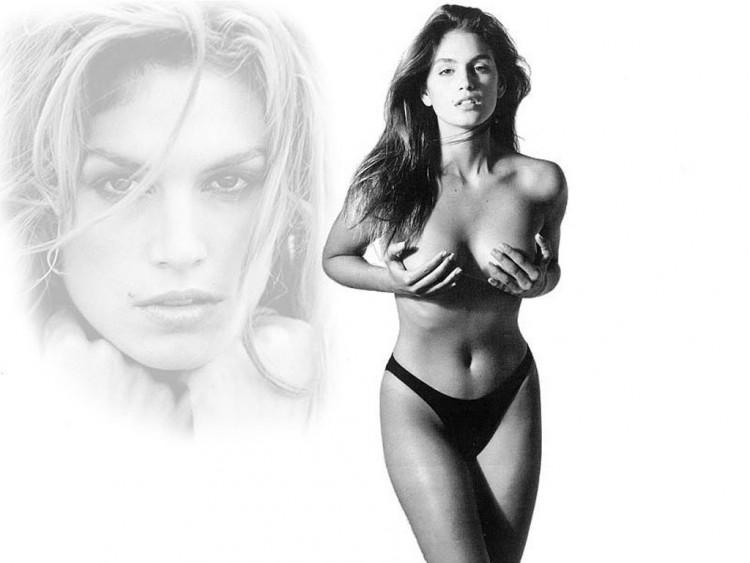 Fonds d'écran Célébrités Femme Cindy Crawford Wallpaper N°55682