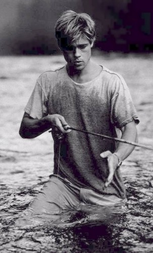 Fonds d'écran Célébrités Homme Brad Pitt Wallpaper N°54188