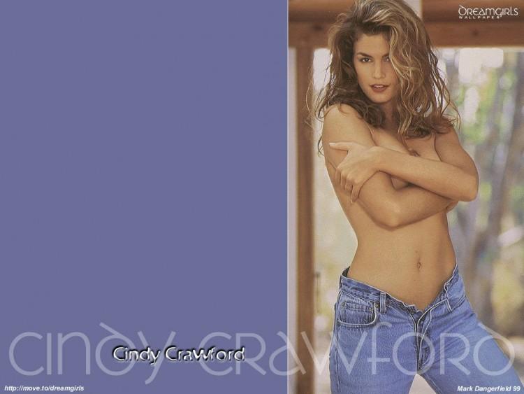 Fonds d'écran Célébrités Femme Cindy Crawford Wallpaper N°55670