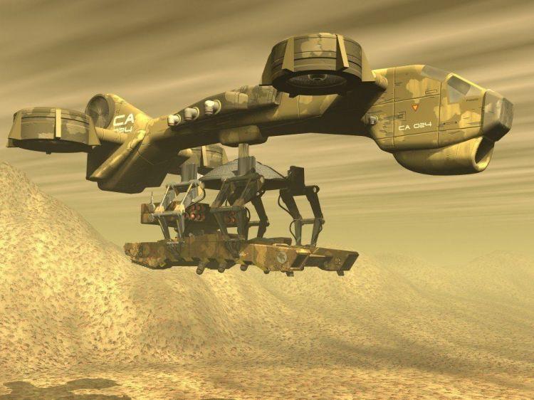 Fonds d'écran Jeux Vidéo Command and Conquer : Soleil de Tiberium Wallpaper N°35072