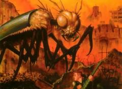 Fonds d'écran Art - Crayon Bug City