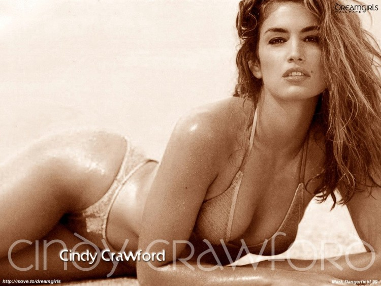 Fonds d'écran Célébrités Femme Cindy Crawford Wallpaper N°55667