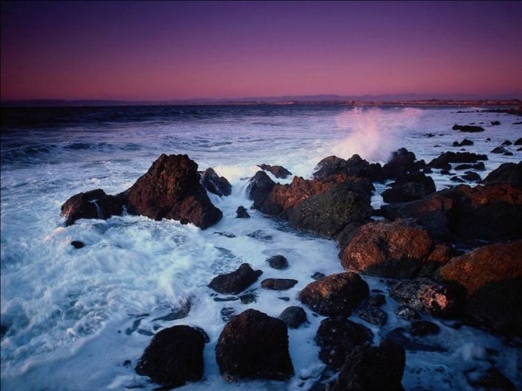 Fonds d'écran Nature Mers - Océans - Plages Wallpaper N°39828