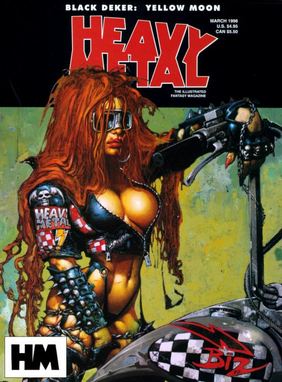 Wallpapers Comics Wallpapers Heavymetal Covers Wallpaper N 47761 By Hebus Hebus Com