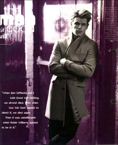 Fonds d'écran Célébrités Homme Matt Damon Wallpaper N°54523