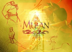 Fonds d'écran Dessins Animés Mulan