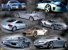 Fonds d'écran Voitures Sports Cars montage 2
