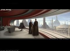 Wallpapers Movies SW Design' - Palpatine et Anakin