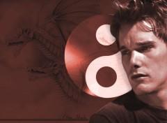 Fonds d'écran Célébrités Homme Red dragon knight