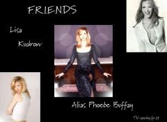 Wallpapers TV Soaps Phoebe - Lisa Kudrow