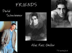 Wallpapers TV Soaps Ross- David Schwimmer