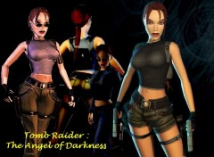 Fonds d'écran Jeux Vidéo Lara Croft, the angel of Darkness