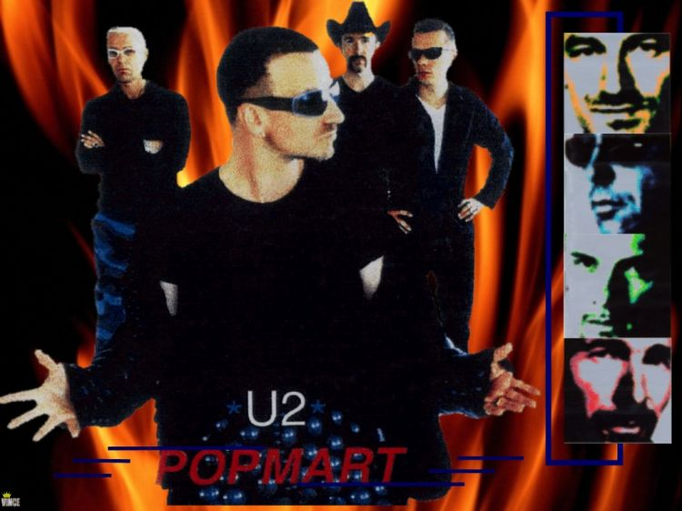 Fonds d'écran Musique U2 U2 - POP