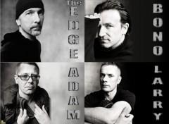 Fonds d'écran Musique U2 - 4 in 1