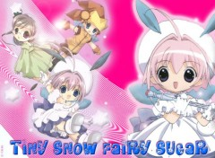 Fonds d'écran Manga Tiny Snow Fairy Sugar : P i n k