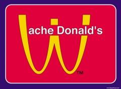 Wallpapers Humor MAc-Vache Donald