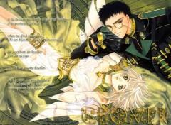 Fonds d'écran Manga Trèfle