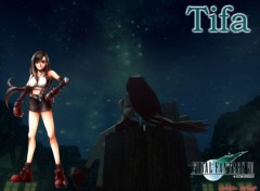 Wallpapers Video Games wall tifa ff7