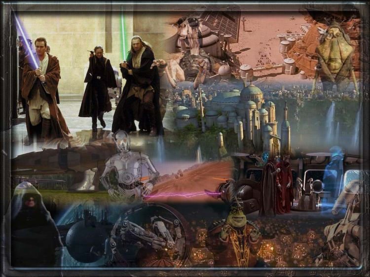 Wallpapers Movies Wallpapers Star Wars Episode I The Phantom Menace Star Wars Episode 1 By Shal Hebus Com