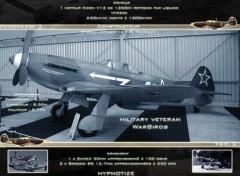 Fonds d'écran Avions WarBirds Yak-3