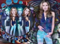 Fonds d'écran Célébrités Femme Buffy, the slayer
