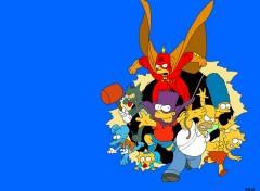 Fonds d'écran Dessins Animés Les Simpson
