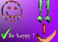 Fonds d'écran Humour Be happy 1.3
