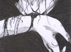 Wallpapers Art - Pencil vampire