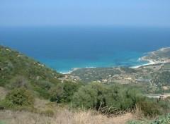 Fonds d'écran Nature Plage en Balagne, Haute-Corse.