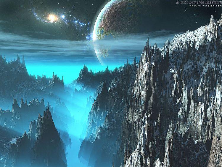 Fonds d'écran Espace Planètes A Path Towards The Stars