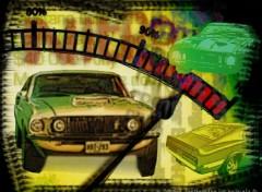Fonds d'écran Art - Numérique Mustang one