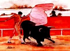 Wallpapers Art - Painting Corrida
