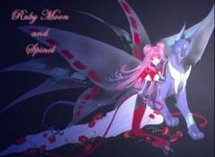 Fonds d'écran Manga Ruby Moon and Spinel