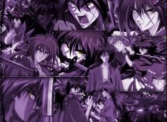 Fonds d'écran Manga Kenshin @ Kyoto