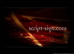 Fonds d'écran Art - Numérique script-sign.com