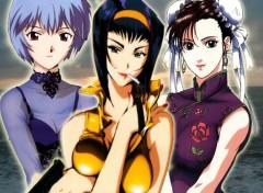 Fonds d'écran Manga drôle de dame