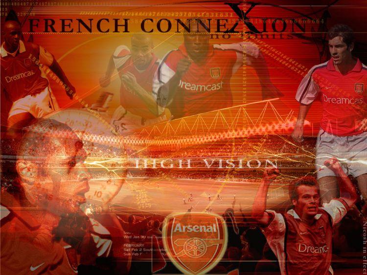 Fonds d'écran Sports - Loisirs Football french conneXion