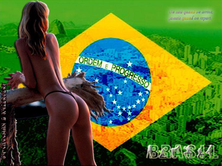 Fonds d'écran Voyages : Amérique du sud Brésil Belle Brésillienne