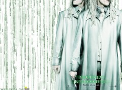 Wallpapers Movies The Matrix Reloaded - The Twins