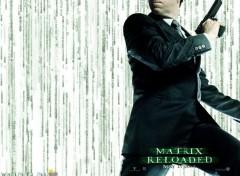 Fonds d'écran Cinéma The Matrix Reloaded - Agent Smith