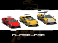 Wallpapers Cars -- Murcielago --