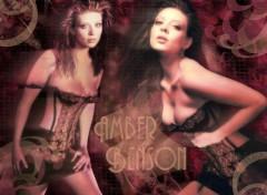 Fonds d'écran Célébrités Femme Amber the sexy slayer