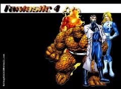 Fonds d'écran Comics et BDs Ruthay Fantastic Four 01
