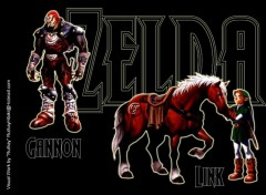 Wallpapers Video Games Zelda Gannon & Link